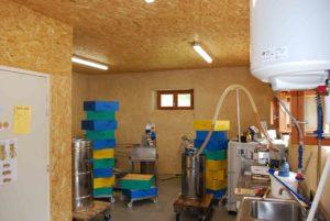 Rénovation d'une miellerie