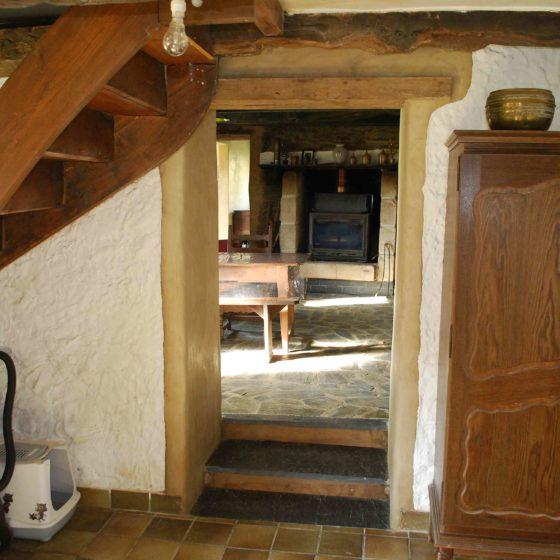 r alisation d 39 un percement de mur mitoyen terre. Black Bedroom Furniture Sets. Home Design Ideas